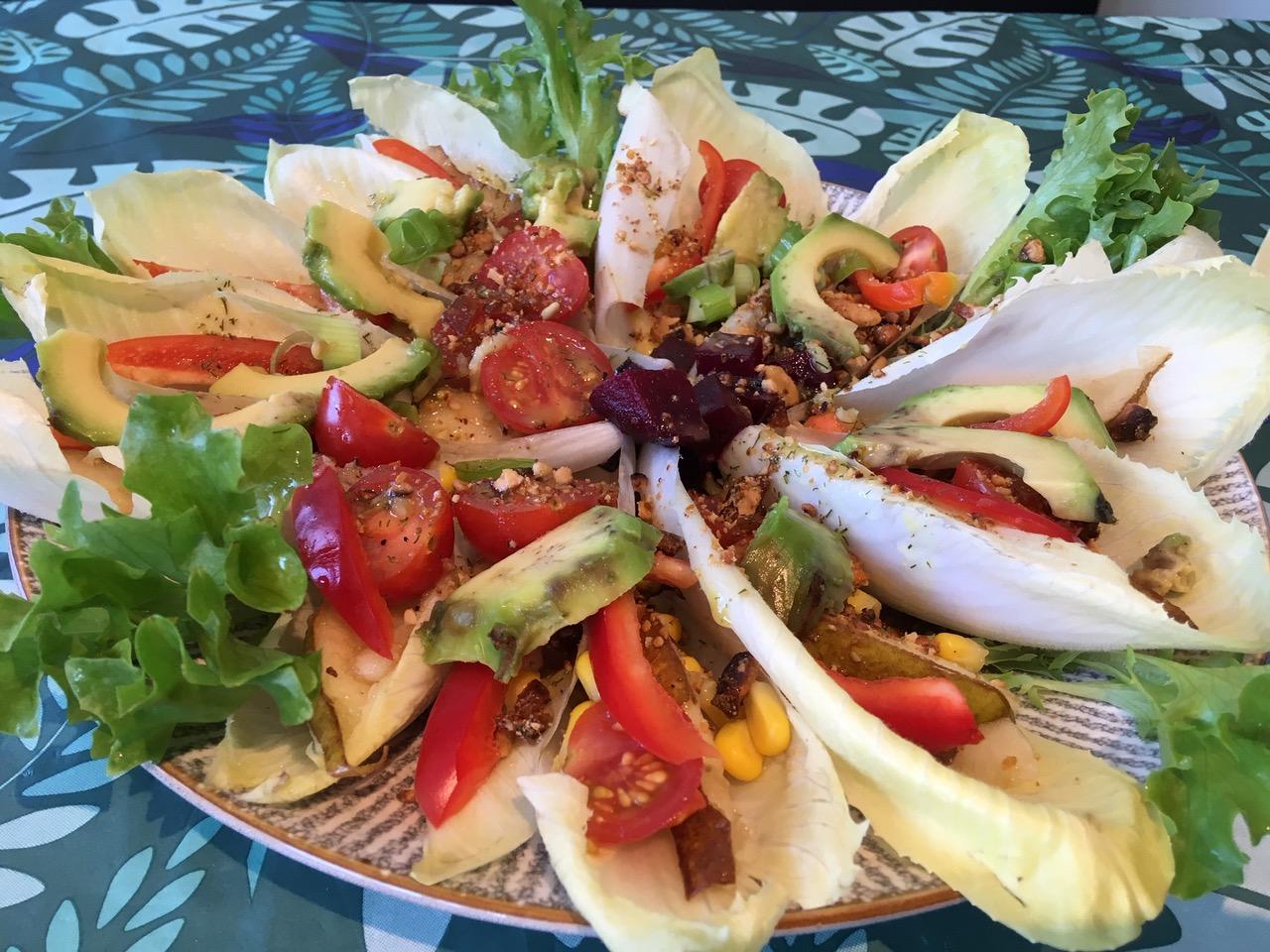 Salade van witlof