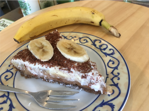 No bake bananoffee